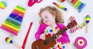 Safari Sams Events - Child With Musical Instruments