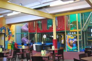 Safari Sams Gym and Seating Area